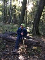 Дмитрий Пивень в лесах Средиземья...
