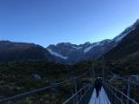 Первый мост через ледниковую реку