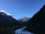 В перспективе гора Кука