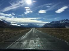По дороге к национальному парку горы Кука