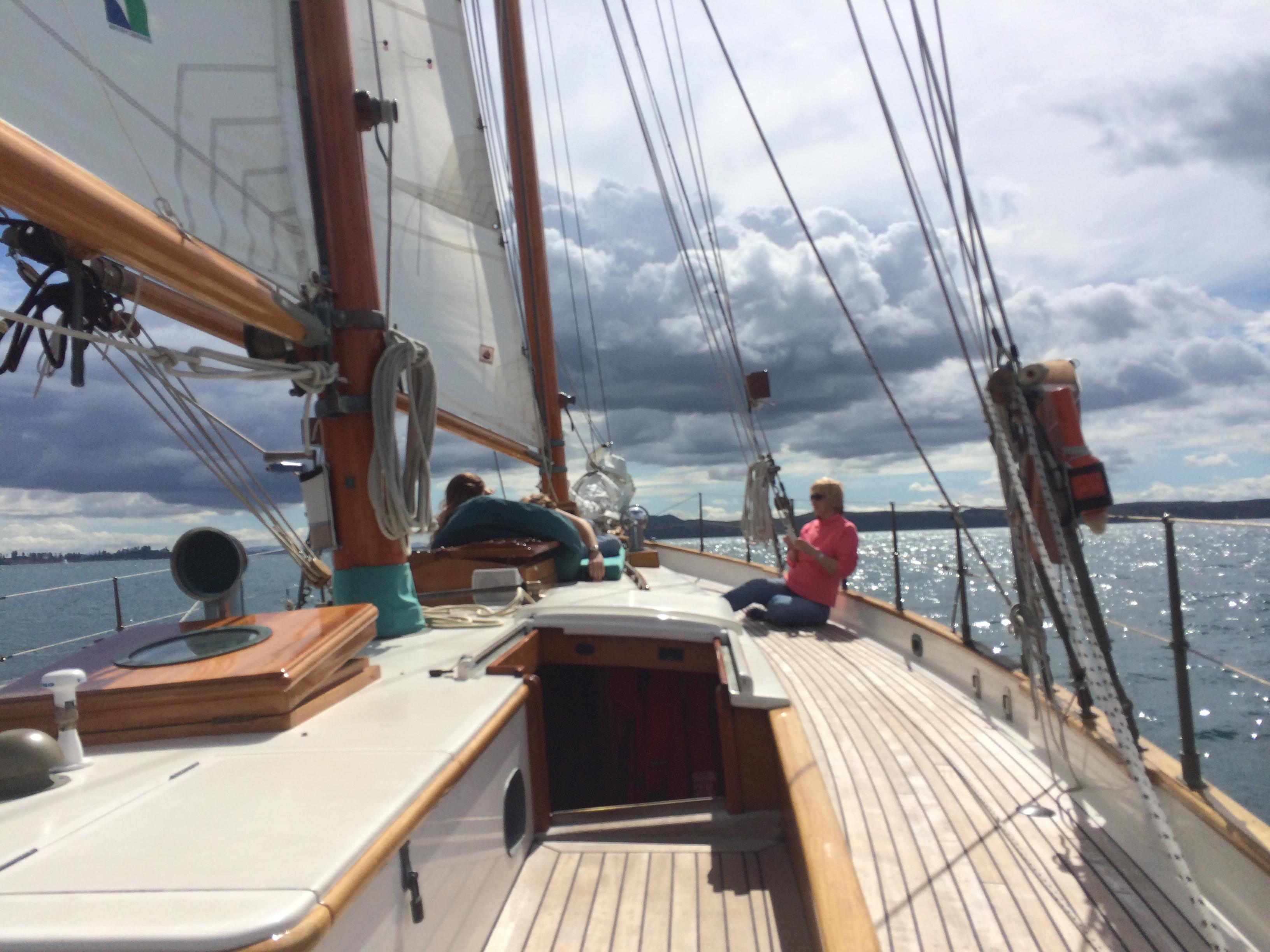 Прогулки на яхте в Окленде